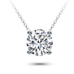 Classic Solitaire Diamond Pendant