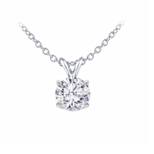Prong Set Solitaire Pendant Mounting